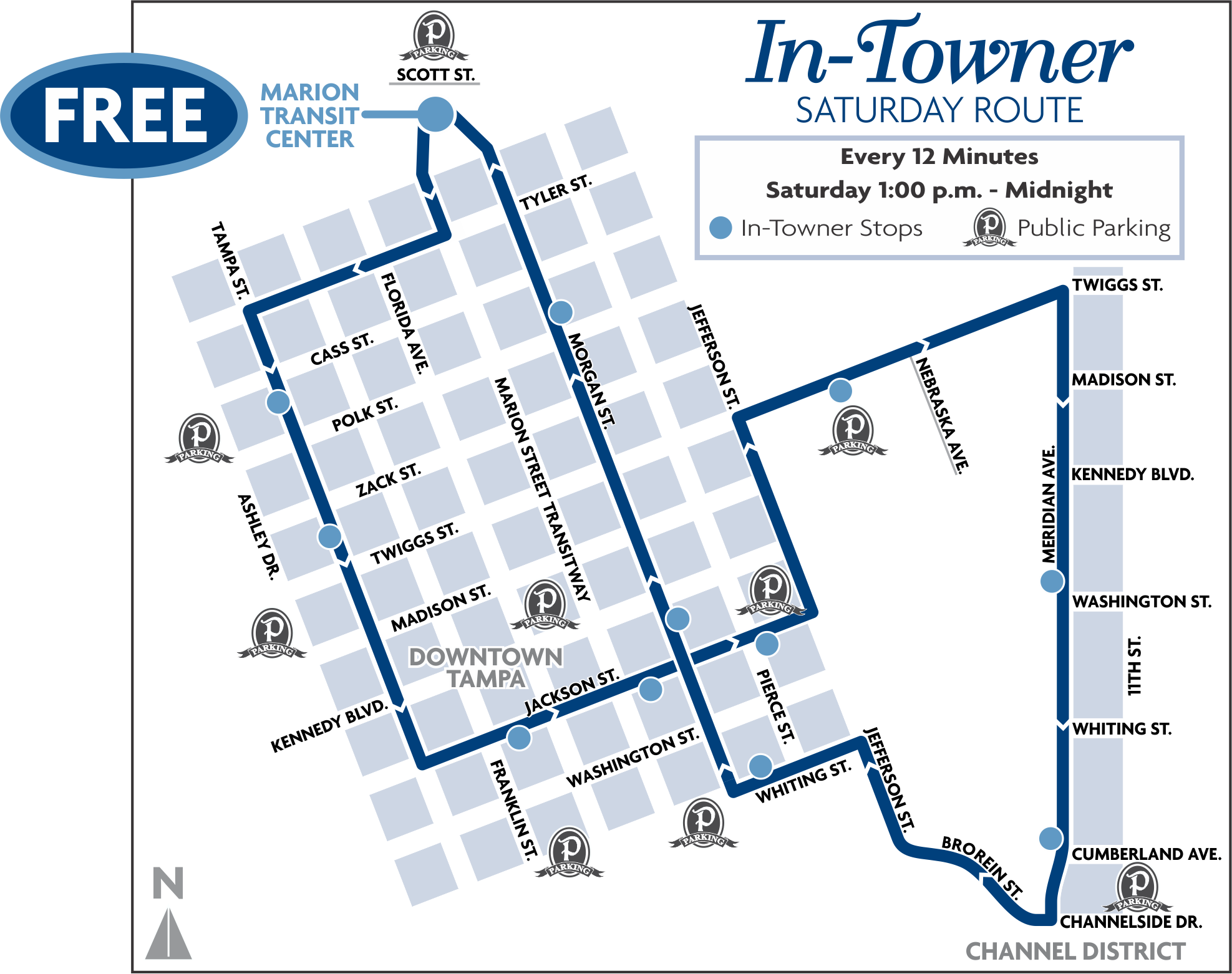 In-Towner Map for Oct. 22.